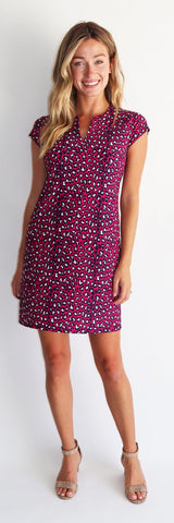 Laney Dress <br>Jude Cloth - Mini Leopard