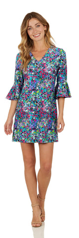 Lyla Dress <br>Jude Cloth - Watercolor Floral