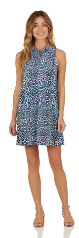 Harlee Dress <br>Jude Cloth - Mini Leopard- FINAL SALE