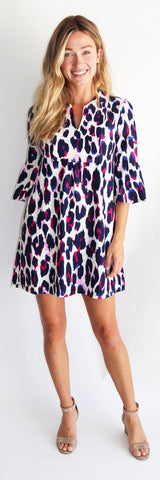 Kerry Dress <br>Jude Cloth - Large Leopard -FINAL SALE