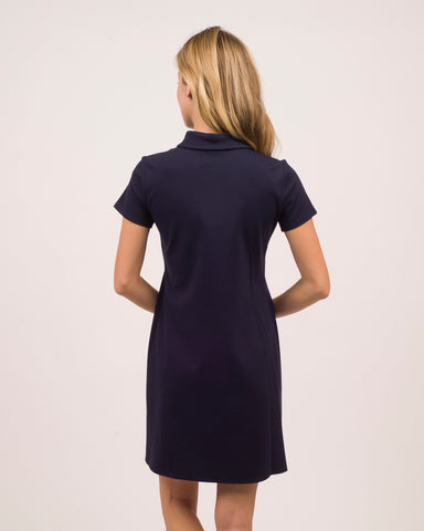 Penny Dress <br>Ponte Knit - Dark Navy