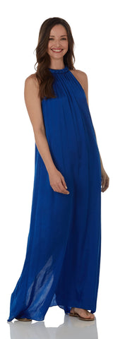 Isabella Dress <br>St. Tropez Modal - Blue