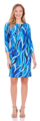 Maxine Dress in High Tide Navy - Jude Connally - 1