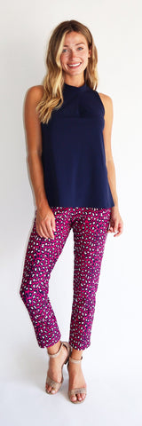Lucia Pant <br>Jude Cloth - Mini Leopard