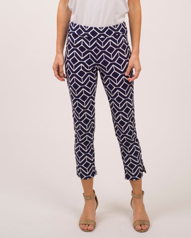 Lucia Pant <br>Jude Cloth - Sail Geo