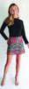 Morgan Skort <br>Jude Cloth - Medina Paisley