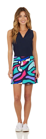 Morgan Skort <br>Jude Cloth - Oh Abstract- FINAL SALE