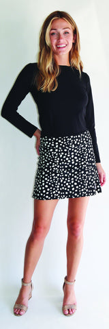 Morgan Skort <br>Jude Cloth - Painted Spot