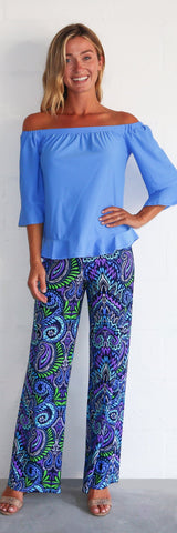 Trixie Pant <br>Jude Cloth - Wild Paisley