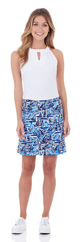 Carrie Skort in Ocean Sails Navy
