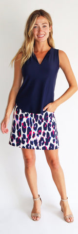 Sonia Skort <br>Jude Cloth - Large Leopard