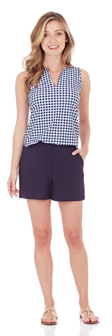 Phoebe Ponte Short in Dark Navy
