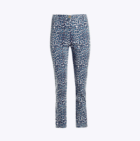 Tyler Pant <br>Cotton Sateen - Mini Leopard - FINAL SALE