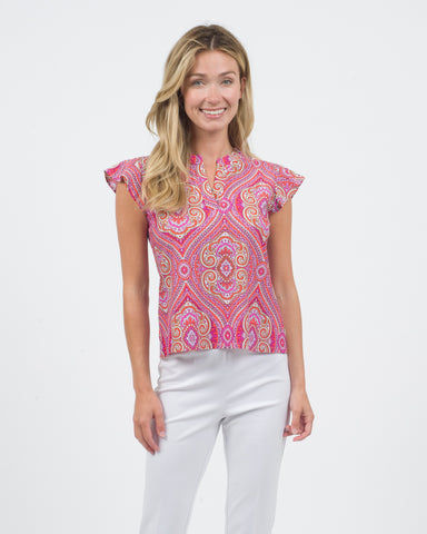 Dani Top <br>Jude Cloth - Paisley Medallion