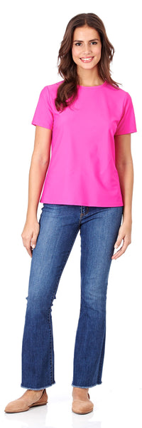 Gia Tee in Summer Pink