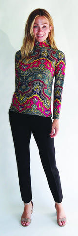 Abbie Top <br>Jude Cloth - Medina Paisley