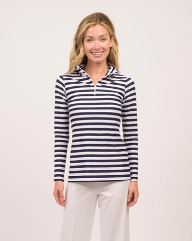 Ashley Top <br>Jude Cloth - Stripe