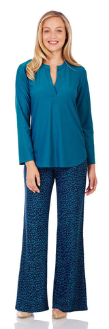 Josie Tunic Top in Peacock - Jude Connally - 1