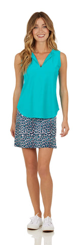 Ali Top <br>Jude Cloth - Teal