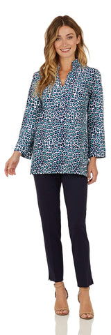 Chris Tunic Top <br>Jude Cloth - Mini Leopard