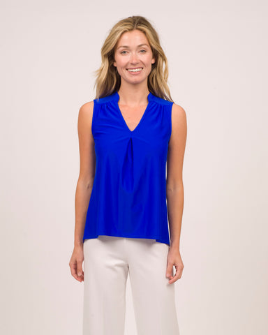 Eva Top <br>Jude Cloth - Cobalt