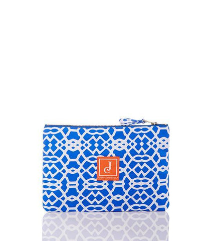 Madison Pouch in Bluebell Lattice Geo - Jude Connally - 1