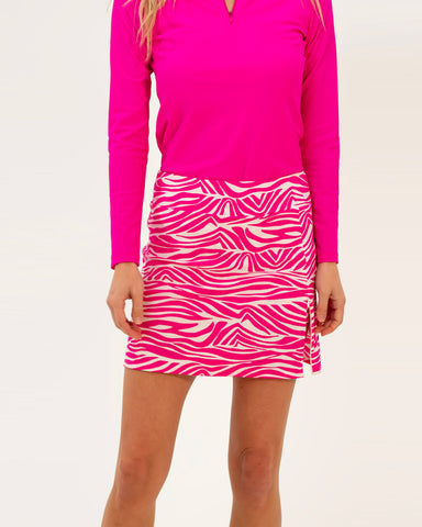 Morgan Skort <br>Jude Cloth - Zebra
