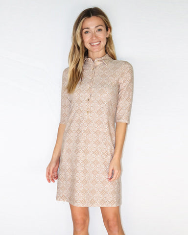 Susanna Dress <br>Jude Cloth - Batik Medallion
