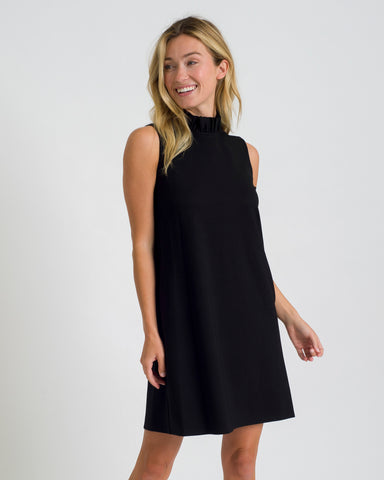 Avery Dress <br>Ponte Knit - Black
