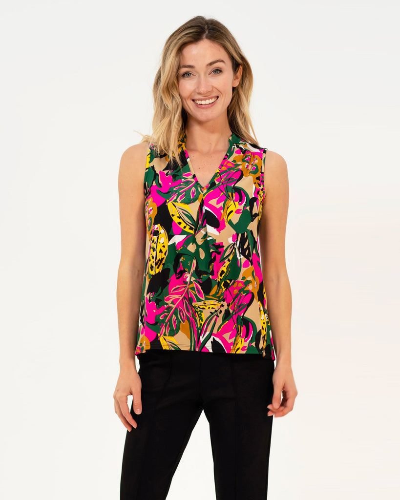 Eva Top <br>Jude Cloth - Jungle Floral