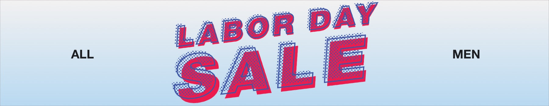Men's Labor Day Sale