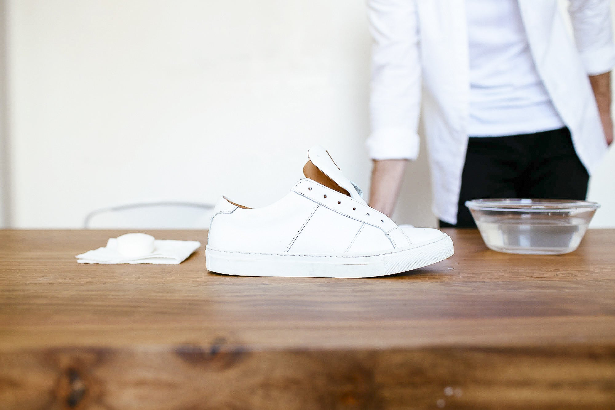 c13787b26044 How to Clean Leather Sneakers At Home
