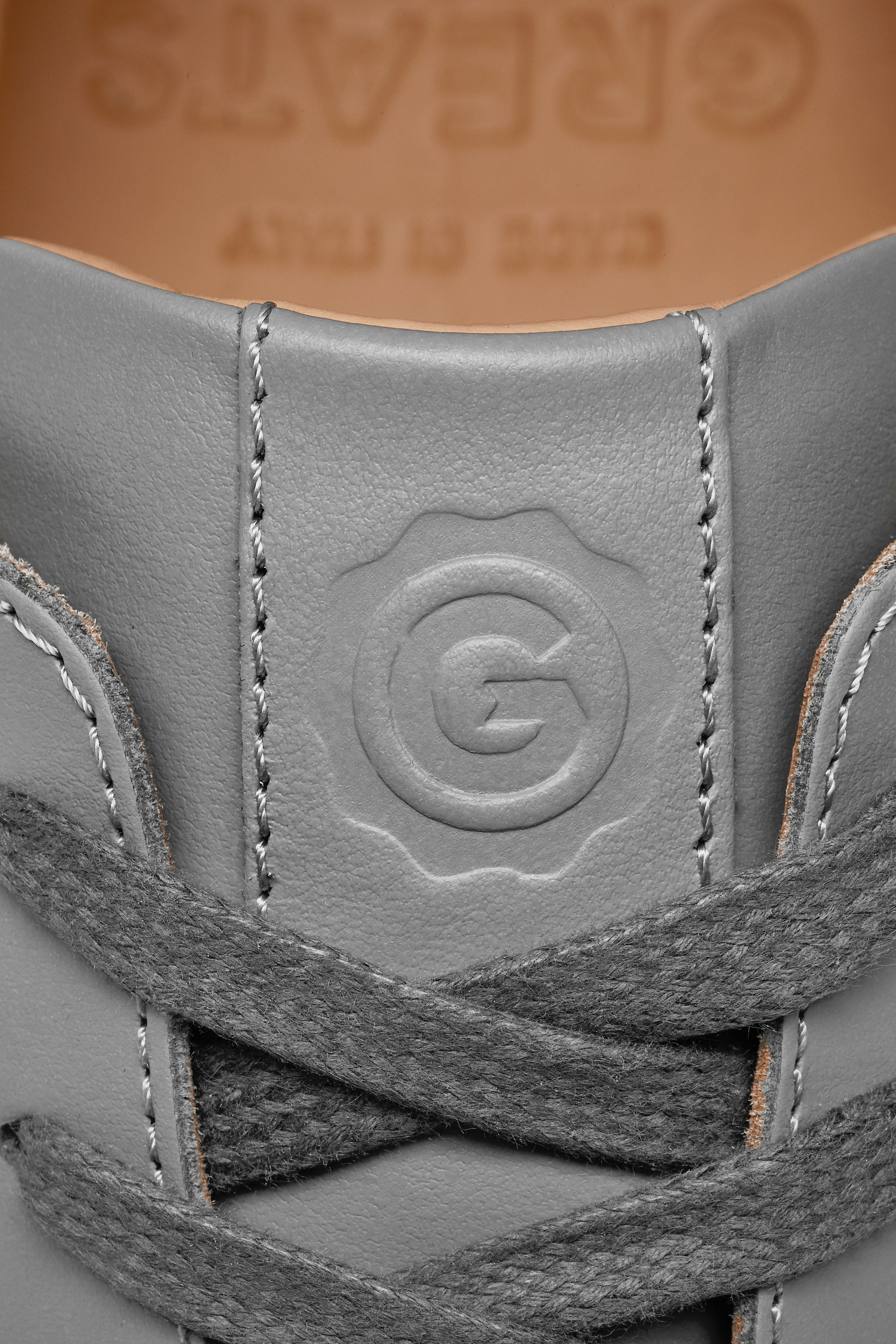 Greats - The Royale - Ash Grey Leather