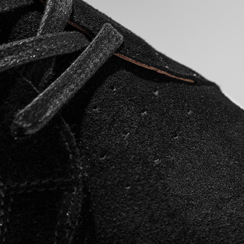 The Nick Wooster x GREATS Royale - Nero Suede