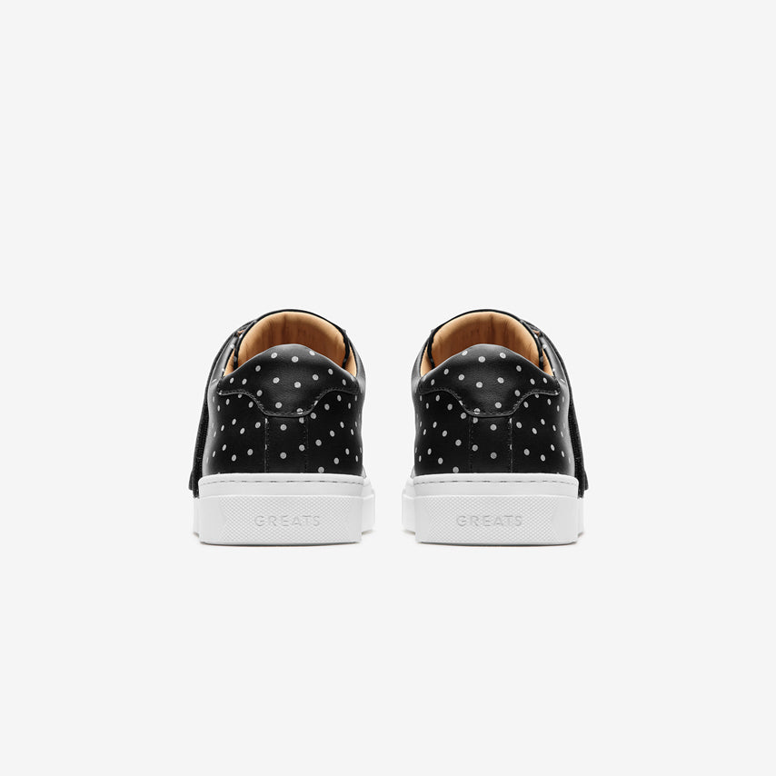 The Nick Wooster x GREATS Royale Velcro - Nero 3M Dots