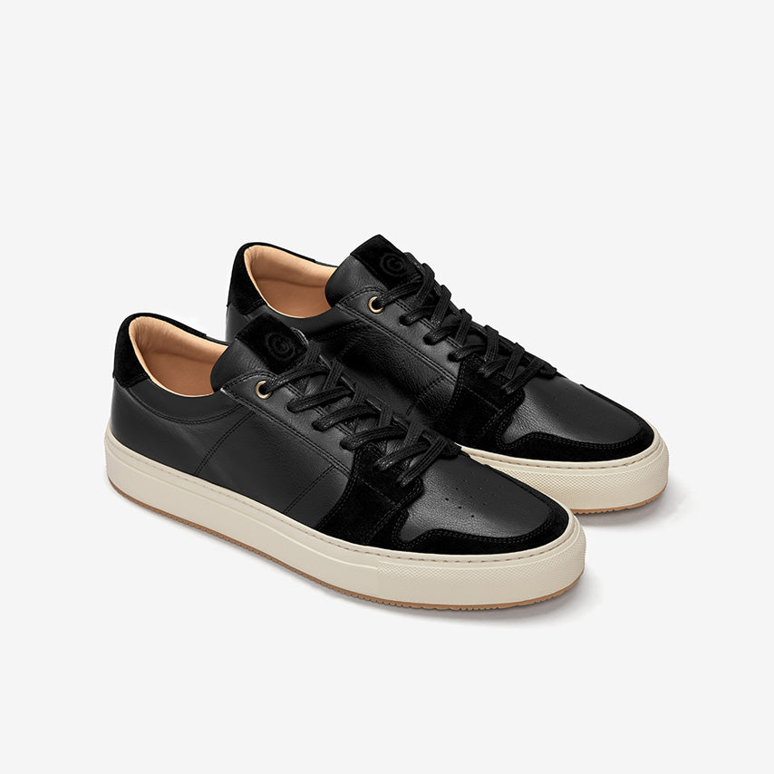 GREATS - The Court - Nero Leather - Men