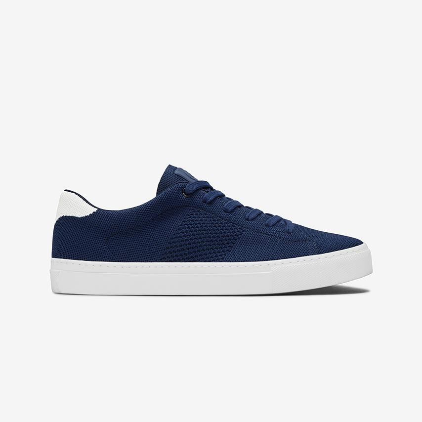 The Royale Knit - Navy/White