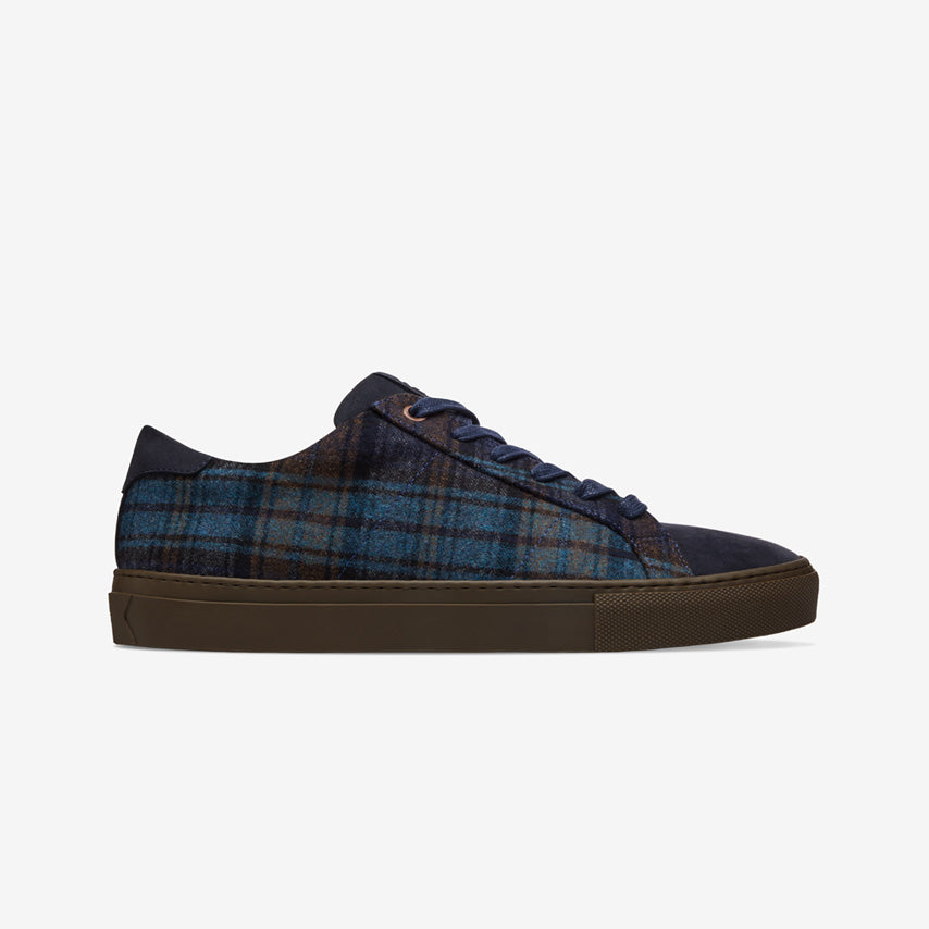 The Royale Plaid - Navy Plaid