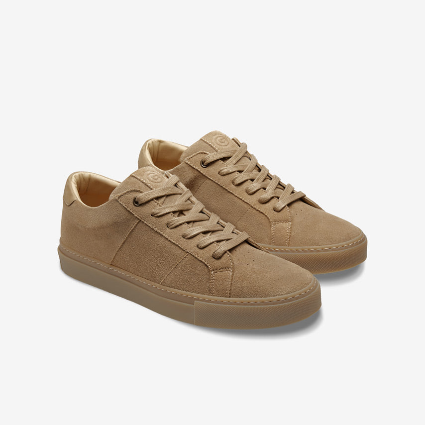 The Royale Suede - Almond/Gum