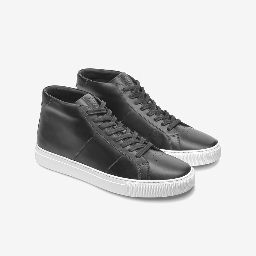 GREATS - The Royale High - Nero Leather