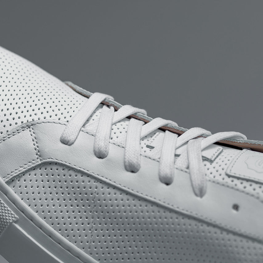 The Royale Perforated - Blanco