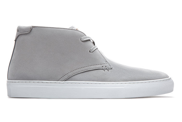 The Royale Chukka - Grey Nubuck