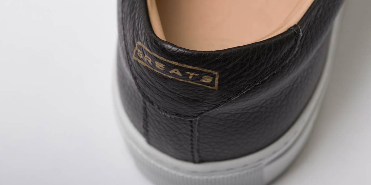 The Royale - Nero Black // White Sole