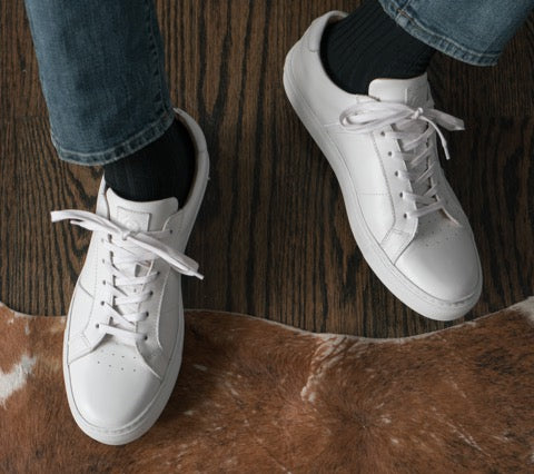 The History of the White Tennis Shoe