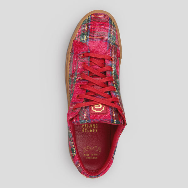 The Royale - Tartan Red // Gum Sole