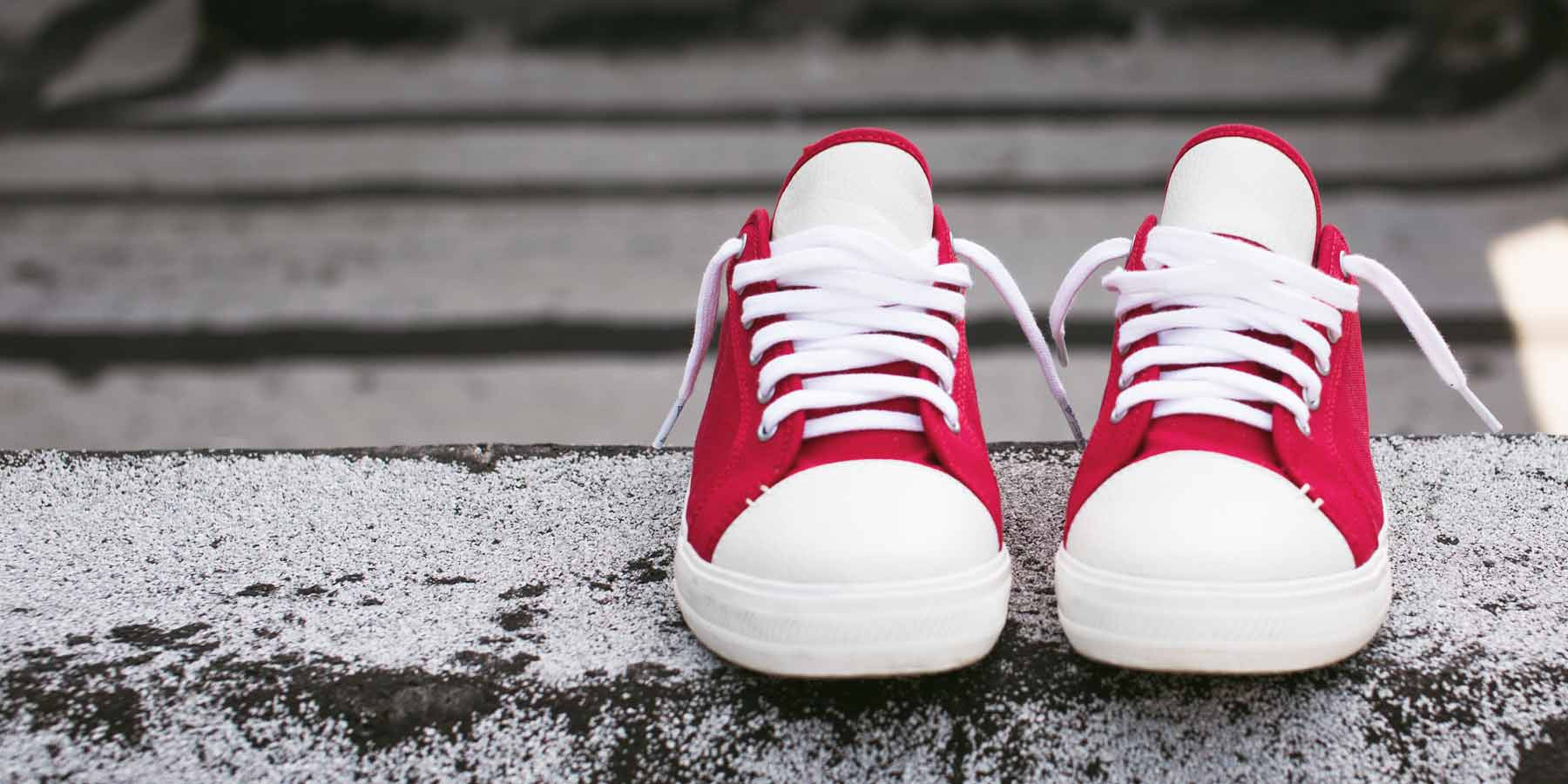 The Wilson - Red // White Sole