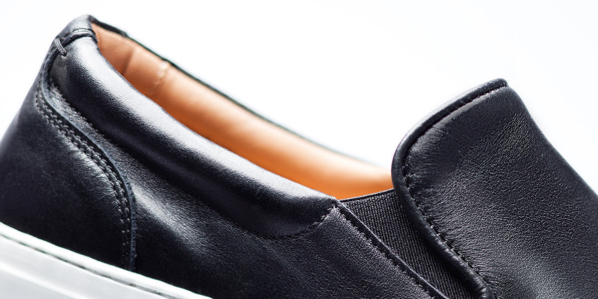 The Wooster Leather - Nero - Women's
