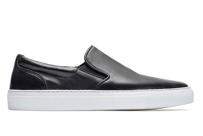b4d4bdf94 leather slip on shoes