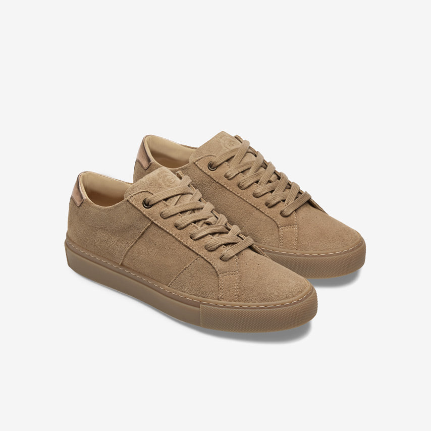 The Royale Suede Women's - Almond/Gum