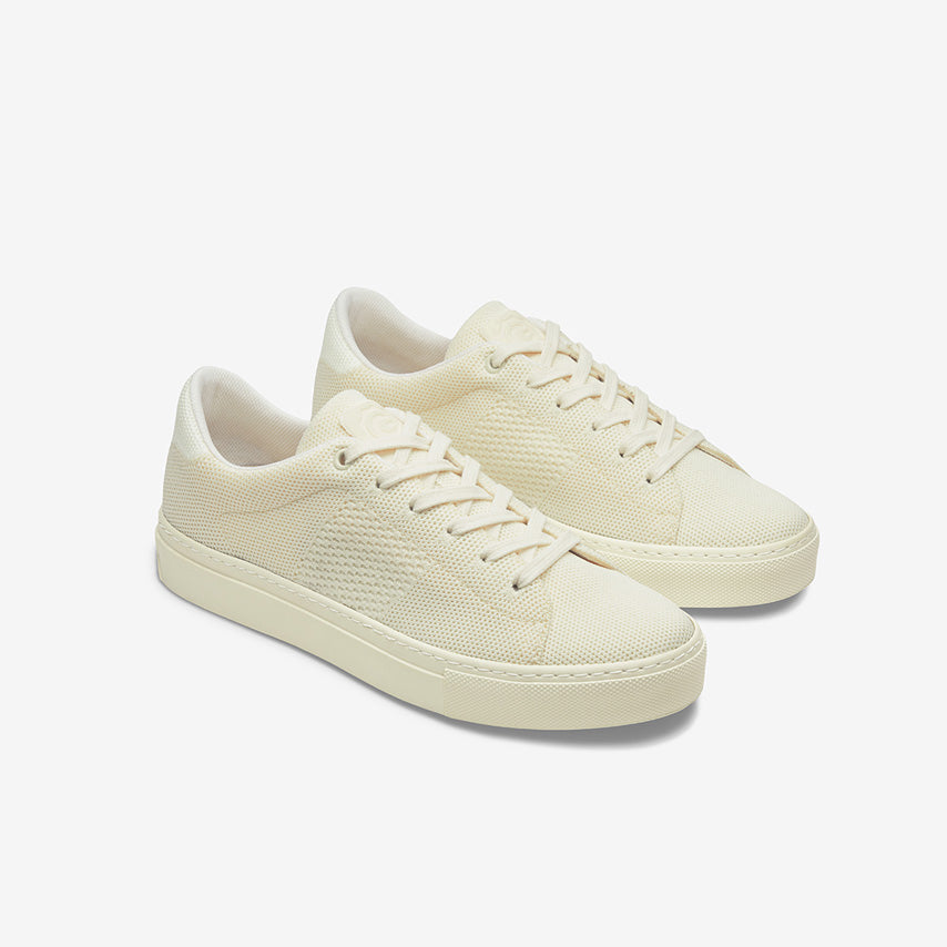 The Royale Knit Women's - Cream Tonal
